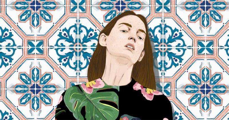 Stefania Tejada minh họa tinh thần nữ giới ngụp lặn trong thời trang và thiên nhiên
