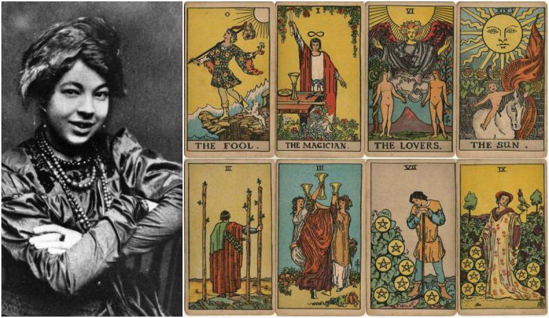 Cuộc đời đầy sóng gió của nữ họa sĩ đã tạo nên chuẩn mực cho thiết kế bài Tarot
