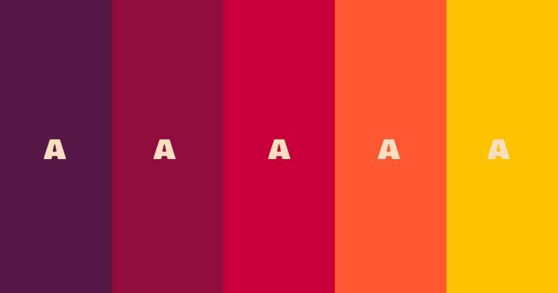 Hướng dẫn cách tạo bảng so sánh mức độ dễ tiếp cận của một bảng màu