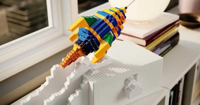 IKEA và LEGO lần đầu tiên kết hợp tạo ra giấc mơ của mọi người lớn và trẻ em