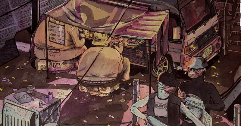 Ratspecial Fust tái hiện những siêu đô thị châu Á qua vũ trụ hư ảo của mình