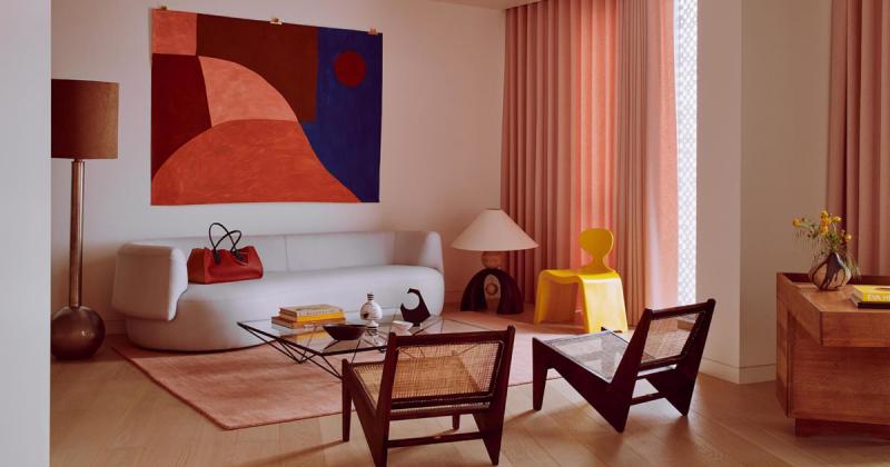 Khi thời trang và nội thất được kết hợp cùng nhau để tạo nên một căn penthouse