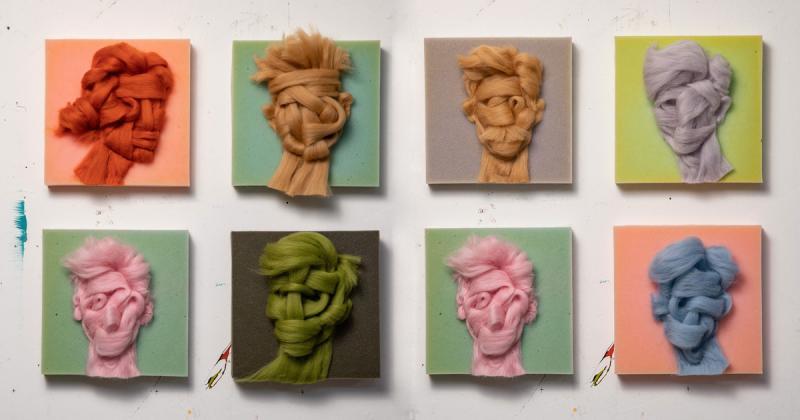 Dùng len để khắc họa chân dung của một thời đại dễ thương tổn