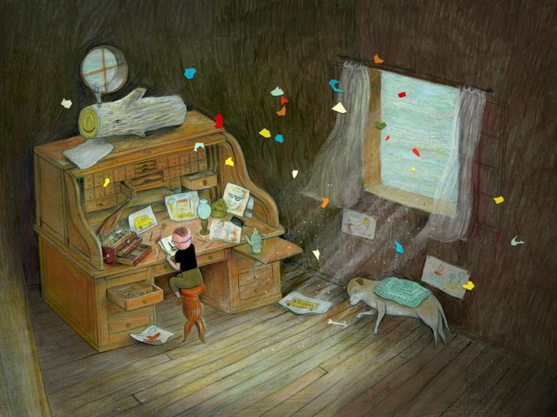8 quyển sách tranh giúp trẻ em học cách tự vấn và ngao du trong thế giới của riêng mình