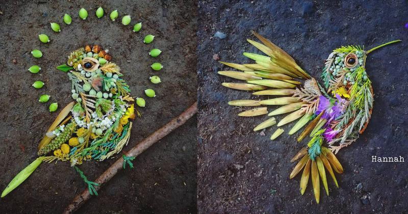 Liệu pháp cho tâm hồn với những tác phẩm Land Art từ chất liệu thiên nhiên