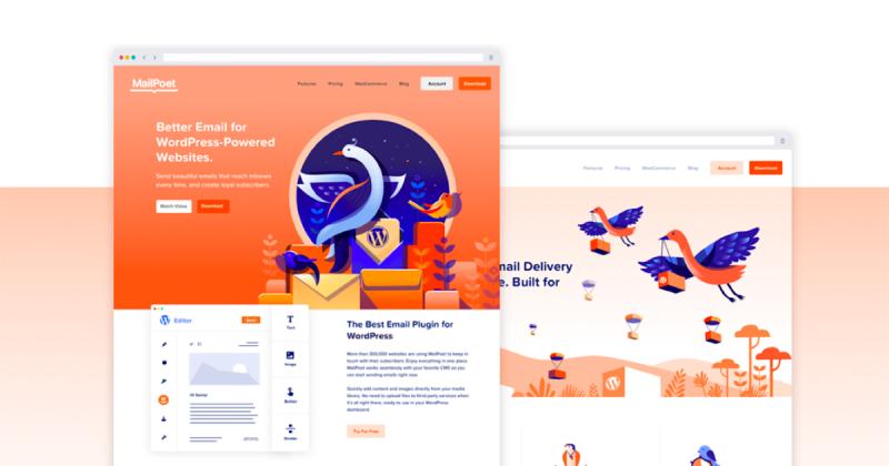 Tầm quan trọng của minh hoạ trong thiết kế web thông qua các tác phẩm của Liquidink Design