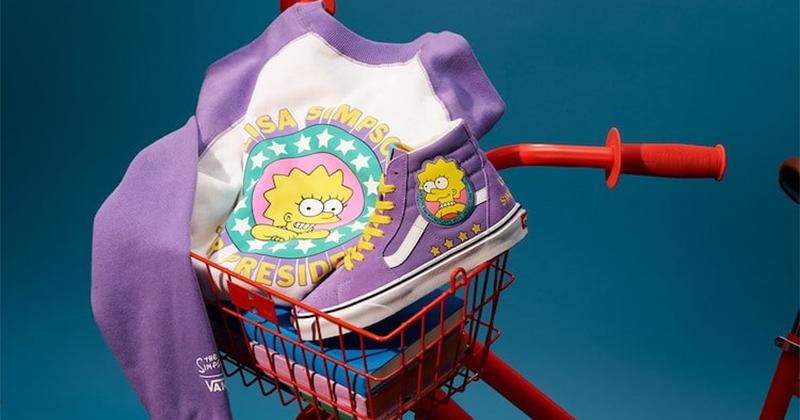 BST Simpsons x Vans dành cho fan cuồng phim hoạt hình The Simpsons huyền thoại