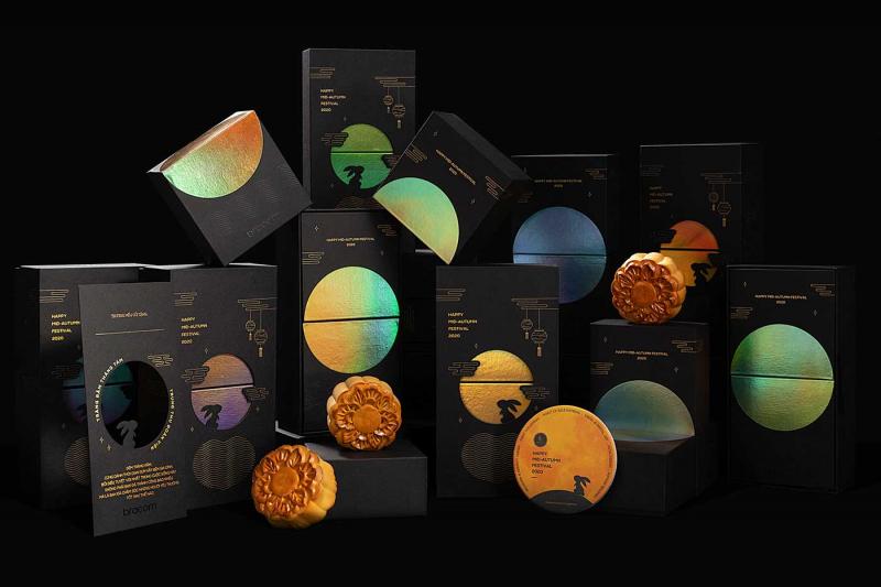 Đêm trăng rực rỡ qua thiết kế quà tặng Trung Thu kiêm lồng đèn đến từ Bracom Agency