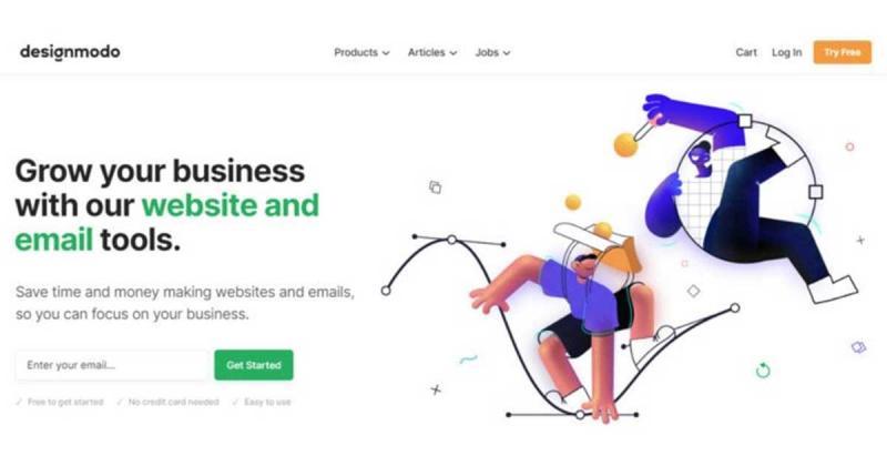 Ứng dụng minh họa về con người trong thiết kế trang web (Phần 2)