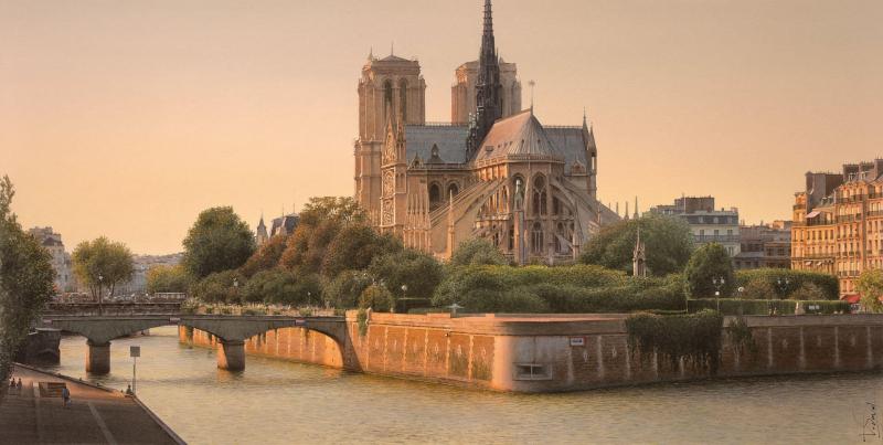Paris thơ mộng trong tranh của bậc thầy nghệ thuật màu nước Thierry Duval