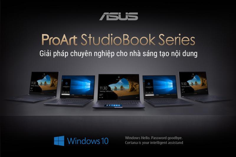 Dải sản phẩm ProArt StudioBook từ ASUS: giải pháp chuyên nghiệp cho người sáng tạo nội dung