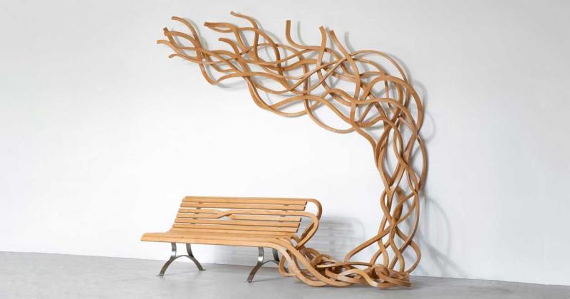 Pablo Reinoso - Thách thức không gian truyền thống với gỗ, đá, cẩm thạch và đồng thau