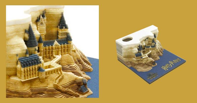 Cùng xé và tạo nên điều kỳ diệu cùng tập giấy ghi nhớ Harry Potter