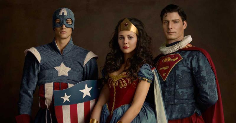 Sacha Goldberger và bộ ảnh siêu anh hùng thế kỉ 17 với ekip hơn 100 người