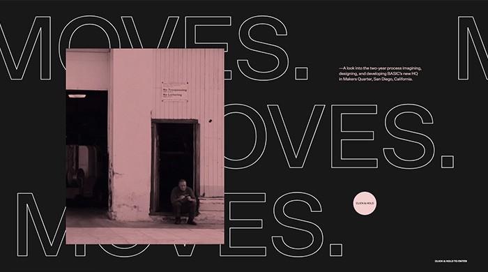 16 ví dụ về typography cỡ lớn trong thiết kế trang web