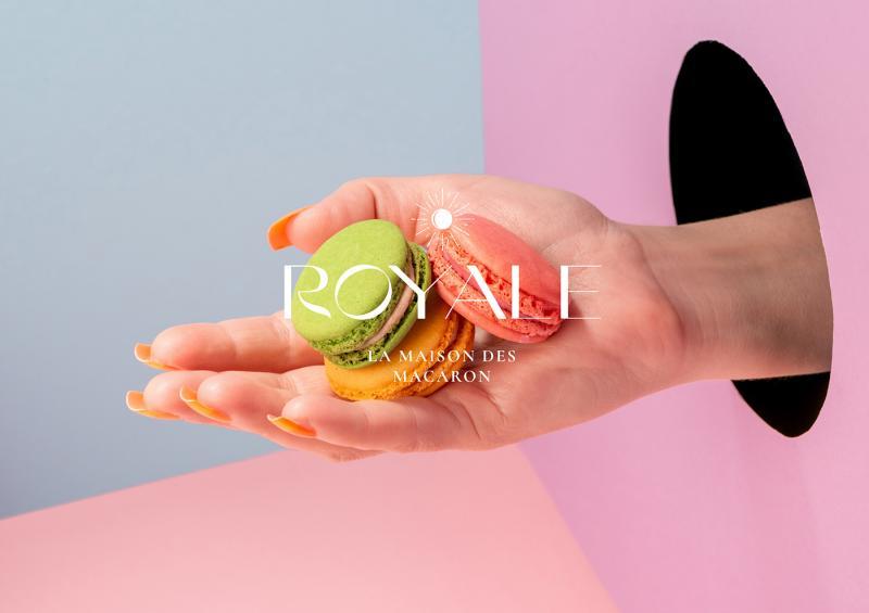 Bộ nhận diện 'rất Pháp' của tiệm bánh macaron cao cấp đến từ Nero Atelier