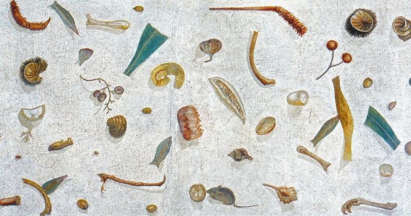 Vì sao giới thượng lưu La Mã dùng rác để trang trí sàn nhà?