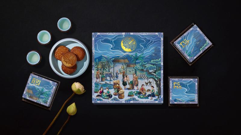 Không thỏ ngọc và cung trăng, Spix.y mang hình ảnh phụ nữ Việt lên bao bì bánh Trung thu Bếp cô Minh