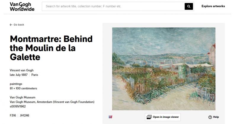 Nhờ mùa dịch, bảo tàng online về tranh của van Gogh chính thức mở cửa
