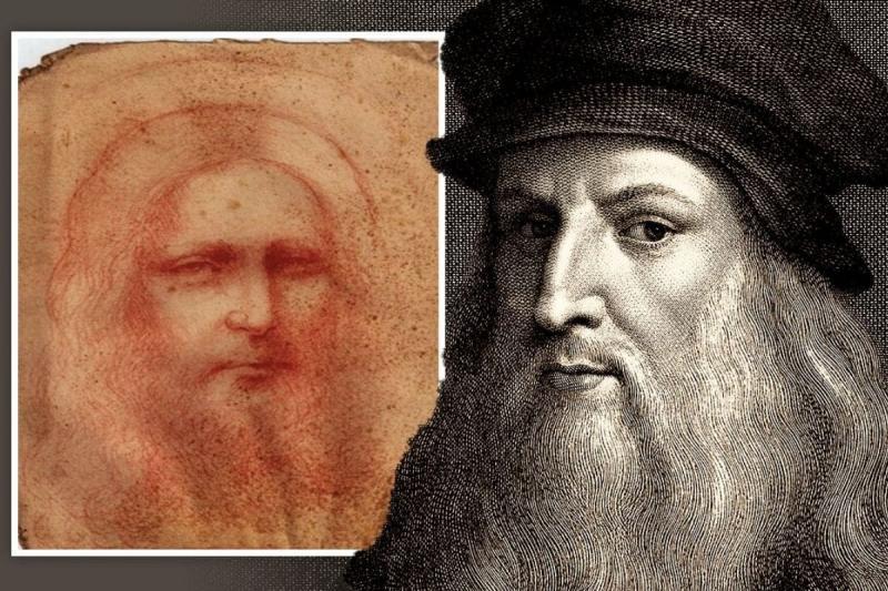 Phát hiện bản vẽ có nét bút giống Leonardo da Vinci