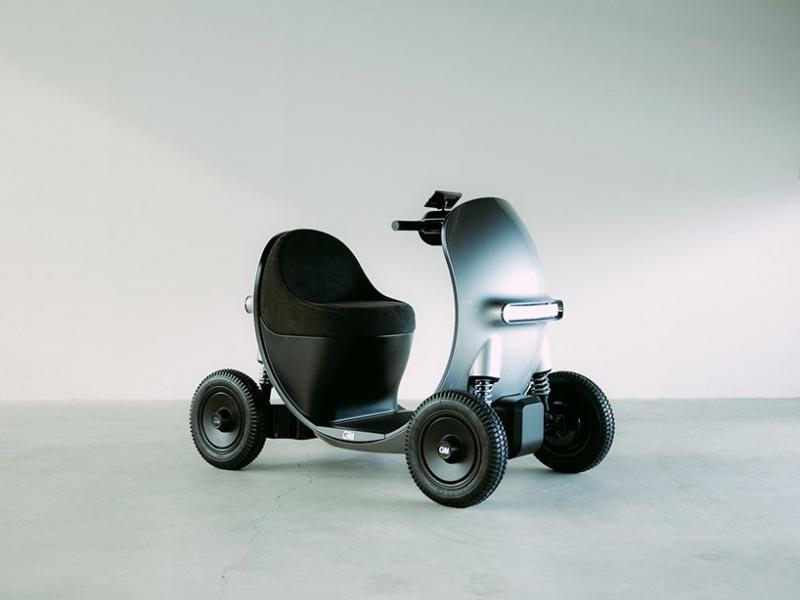 GLM sắp trình làng mẫu xe máy điện dành cho người cao tuổi