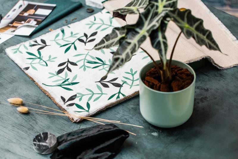 Atelier Karaka tôn vinh vẻ đẹp của vải in thủ công