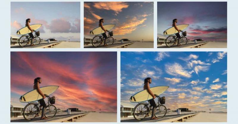 Tính năng đổi cảnh bầu trời Sky Replacement cực xịn xò của Photoshop