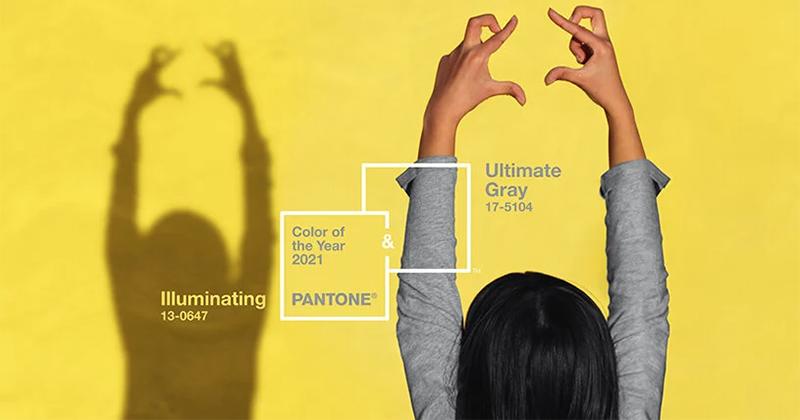 Màu của năm 2021 - Tại sao Pantone chọn hai màu cho năm nay?