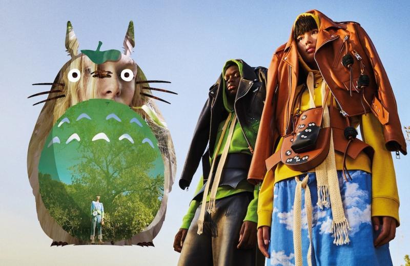 Totoro x Loewe: Khi văn hoá phương Đông kết hợp với thời trang cao cấp phương Tây