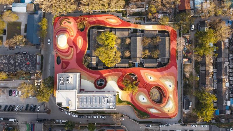 Trường mẫu giáo ở Bắc Kinh: Nơi cổ kính và hiện đại hoà quyện