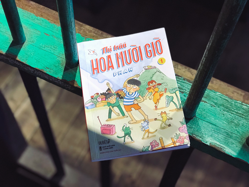 Trở về thế giới tuổi thơ cùng 'Thị trấn Hoa Mười Giờ' - Bộ truyền dài kỳ đầu tiên của Lê Phan