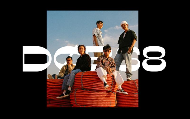 DOB68 - Bộ nhận diện độc đáo mang đậm dấu ấn 'đường phố' đến từ nghệ sĩ Si Tran