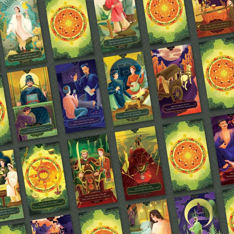 Dự án minh hoạ bài Tarot từ Truyện Kiều - Khai phá sự sáng tạo giữa văn hoá Đông Tây