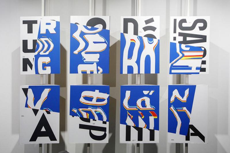 Triển lãm 'Republish: Chữ Là Chi…' - Phục dựng và phát triển nghệ thuật vẽ chữ cổ điển của người Việt