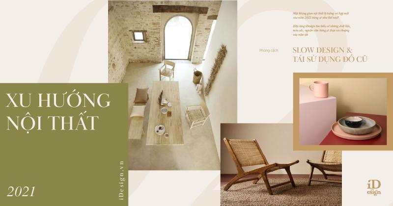 Xu hướng trang trí nội thất 2021: Phong cách và chất liệu nào sẽ lên ngôi?