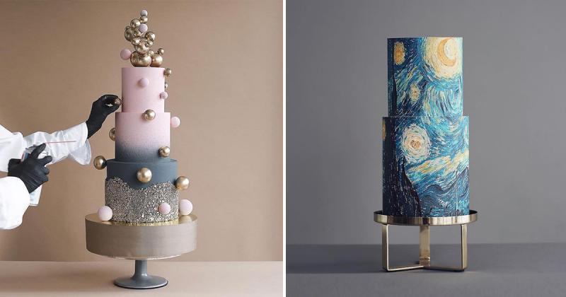 Những chiếc bánh kem 'độc nhất vô nhị' lấy cảm hứng từ hội hoạ hệt như đang nằm trong viện bảo tàng