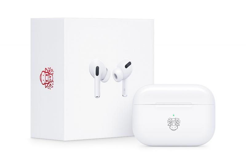 Apple tung ra phiên bản AirPods Pro và một chiếc logo hoàn toàn mới dành cho dịp Tết 'Tân Sửu' 2021