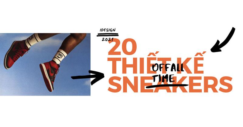 20 thiết kế sneakers 'đình đám' nhất mọi thời đại (Phần 1)