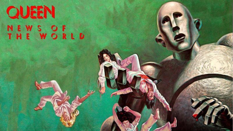 Câu chuyện đằng sau bìa album ấn tượng nhất thập niên 70: News Of The World của Queen