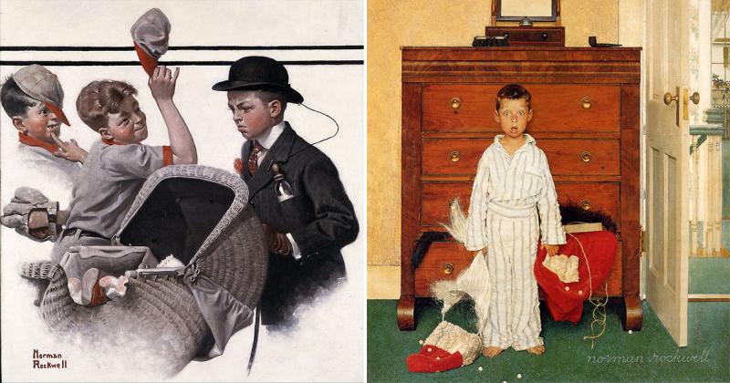 6 bức tranh lột tả chính xác nền văn hóa 'đậm chất Mỹ' của thế kỷ 20 từ Norman Rockwell