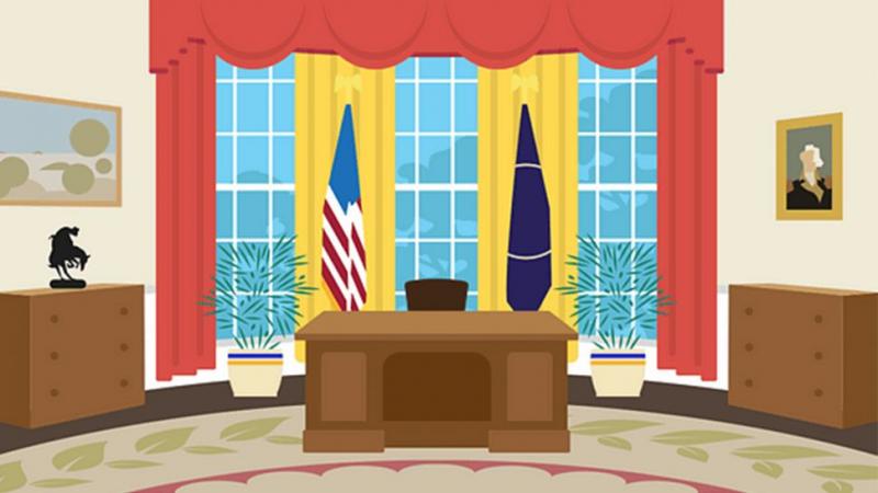 Bật mí bảng màu nội thất phòng Bầu Dục yêu thích của 6 vị tổng thống Mỹ gần đây nhất
