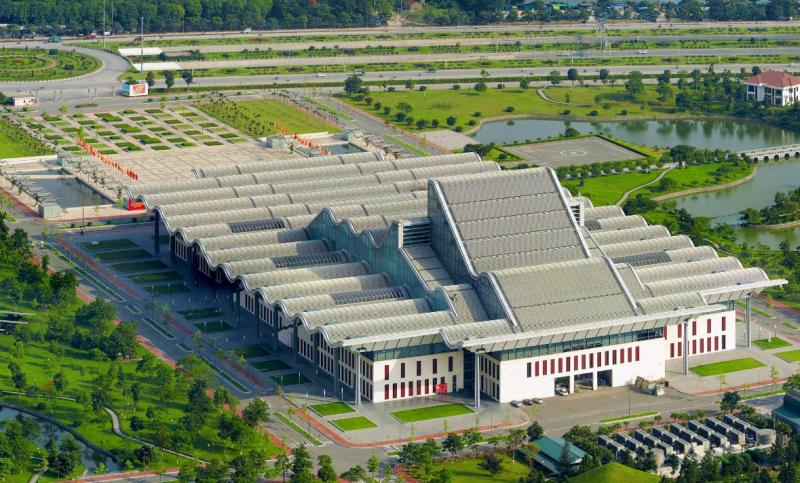 Trung Tâm Hội nghị Quốc Gia Việt Nam - Công trình kiến trúc lấy ý tưởng từ Vịnh Hạ Long