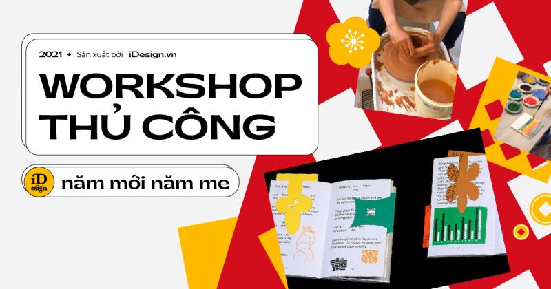 Năm mới khám phá đam mê mới với những workshop về thủ công