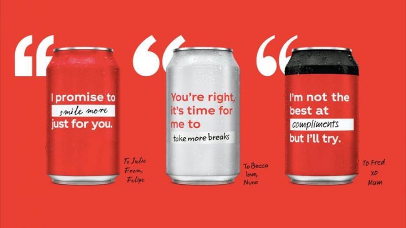 Logo của Coca-Cola biến mất và được thay thế bằng một thiết kế mới đầy táo bạo
