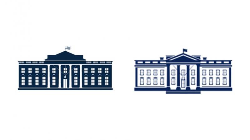 Logo mới của 'Nhà Trắng' đã đi ngược lại xu hướng thiết kế hiện nay - Tại sao?