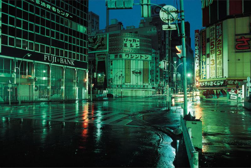 Những bức ảnh hiếm hoi về một Tokyo đậm chất viễn tưởng của thập niên 70 đã được công bố bởi nhiếp ảnh gia Greg Girard