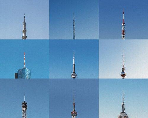 Hugo Suissas 'đóng khung' các địa danh toàn cầu như những cây kim trong loạt ảnh 'tháp vắc xin'