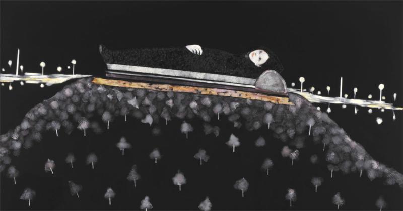 Khi bóng tối cũng là một thực thể tự do qua bộ tranh của Chisato Tanaka