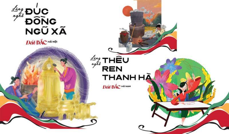 Các nghệ sĩ hợp sức ghi dấu 26 làng nghề truyền thống và đương đại trong dự án Đất BẮC của Ký ức Việt Nam