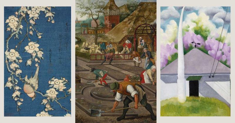 10 tác phẩm nổi bật báo hiệu xuân về của các họa sĩ trên khắp thế giới